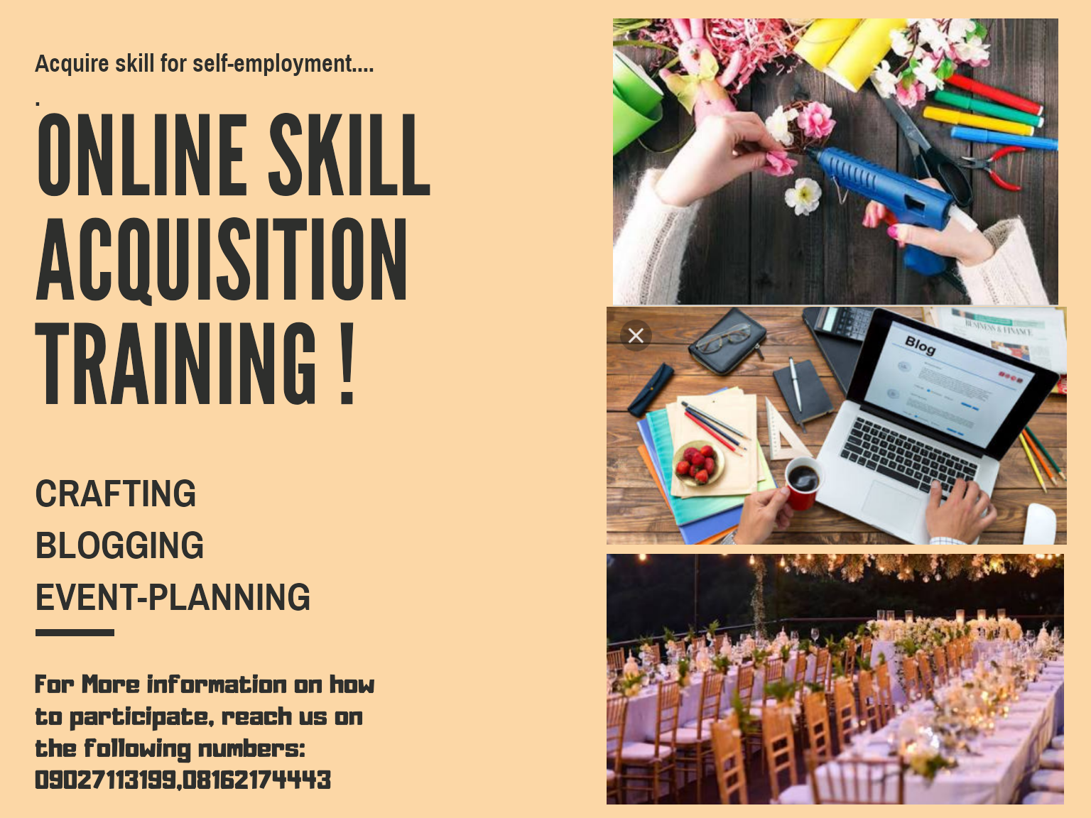 Become self-employed by acquiring these skills 1